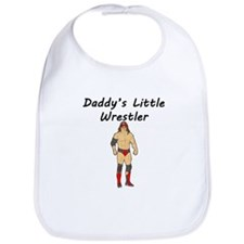 Daddys Little Wrestler Bib