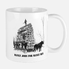 Manly Jobs for Manly Men Mugs