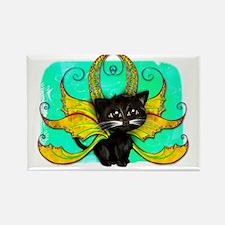 Frixie Cat fairy Blake Rectangle Magnet