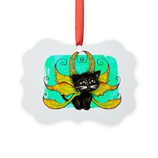 Frixie Cat fairy Blake Ornament