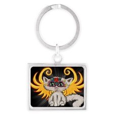 Frixie, Cat Fairy Landscape Keychain