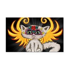 Frixie, Cat Fairy Rectangle Car Magnet