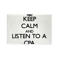 Keep Calm and Listen to a Cpa Magnets