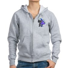 Russian Blue frixie Zip Hoodie
