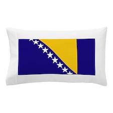 Bosnia Flag Pillow Case