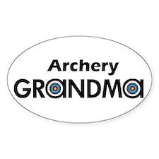 Archery Grandma Decal