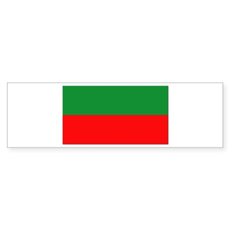 Bulgaria Flag Sticker (Bumper)