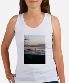 icy river puzzle Tank Top