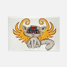 Frixie Feline Fairy Rectangle Magnet