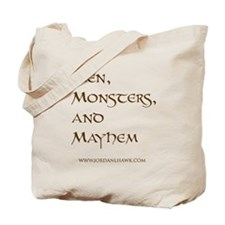 Men, Monsters, and Mayhem Tote Bag