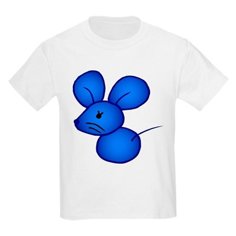 Kids Light T-Shirt/blue mouse