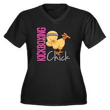 Kickboxing Chick 2 Plus Size T-Shirt