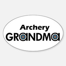 Archery Grandma Decal