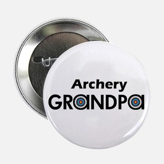 """Archery Grandpa 2.25"""" Button"""