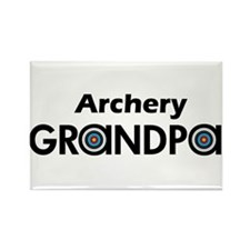 Archery Grandpa Magnets