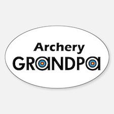 Archery Grandpa Decal