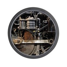 Steam Locomotive wheels Wall Clock