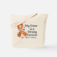 Sister Strong Survivor Tote Bag