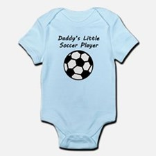 Daddys Little Soccer Player Body Suit