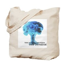 Vote Democrat Tote Bag