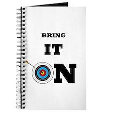 Bring It On Archery Target Journal
