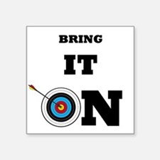 Bring It On Archery Target Sticker