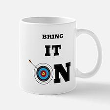 Bring It On Archery Target Mugs