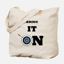 Bring It On Archery Target Tote Bag