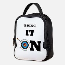 Bring It On Archery Target Neoprene Lunch Bag
