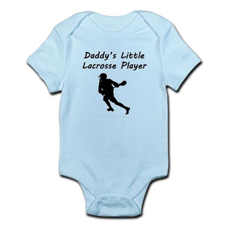 Daddys Little Lacrosse Player Body Suit