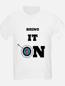 Bring It On Archery Target T-Shirt
