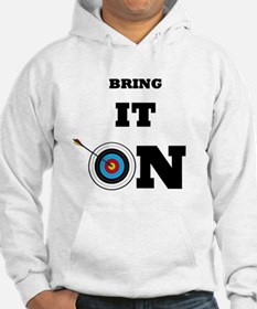 Bring It On Archery Target Hoodie