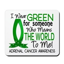 Means World to Me 1 Adrenal Cancer Mousepad