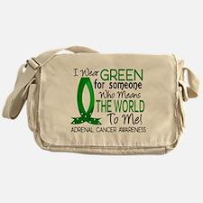 Means World to Me 1 Adrenal Cancer Messenger Bag