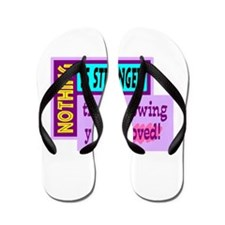 Knowing Youre Loved Flip Flops