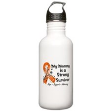 Mommy Strong Survivor Water Bottle