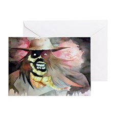 A very scary Scarecrow Greeting Card