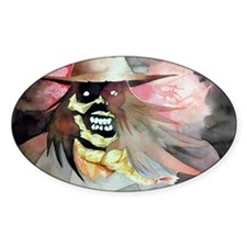 A very scary Scarecrow Decal