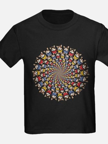 Geo ST Dott mix circle feet in T-Shirt