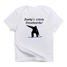 Daddys Little Snowboarder Infant T-Shirt