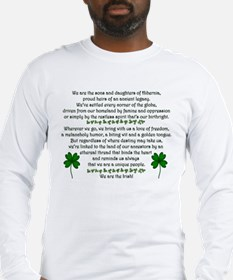 We Are the Irish Long Sleeve T-Shirt
