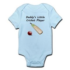 Daddys Little Cricket Player Body Suit
