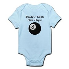 Daddys Little Pool Player Body Suit