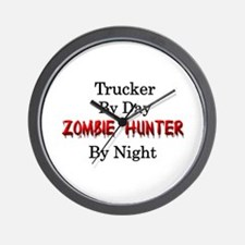 Trucker/Zombie Hunter Wall Clock