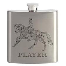 dressage player Flask