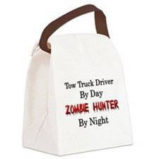 Tow Truck Driver/Zombie Hunter Canvas Lunch Bag