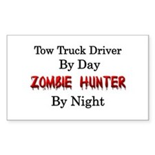 Tow Truck Driver/Zombie Hunter Decal