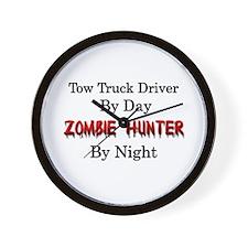 Tow Truck Driver/Zombie Hunter Wall Clock
