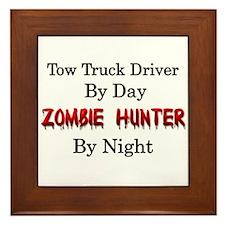 Tow Truck Driver/Zombie Hunter Framed Tile