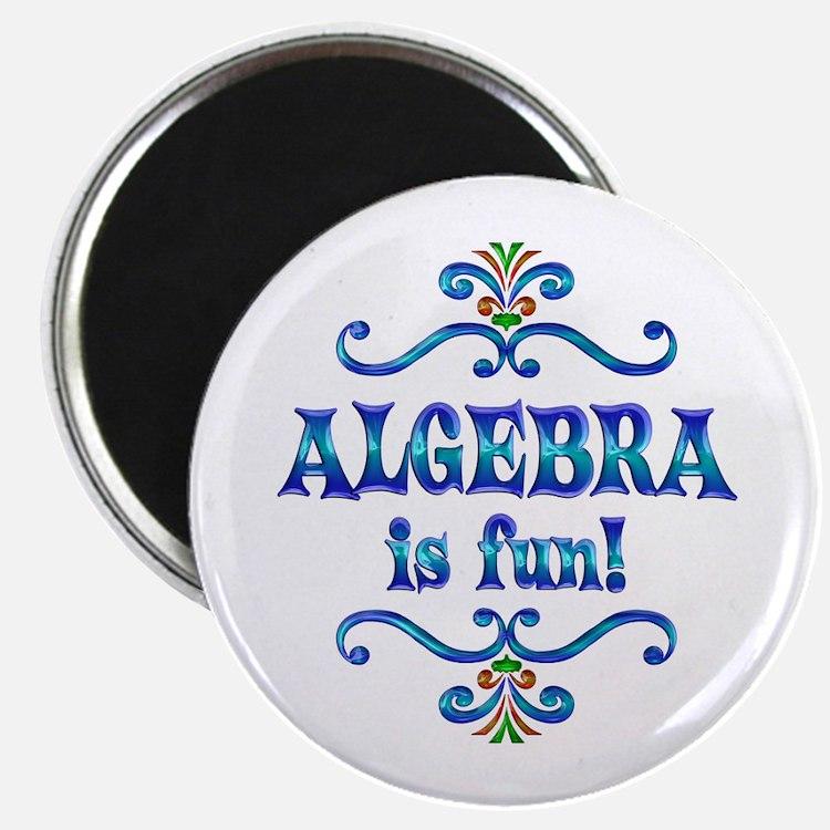 """Algebra is Fun 2.25"""" Magnet (100 pack)"""